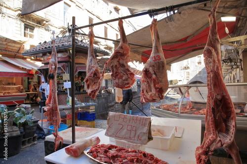 Photo Agnello castrato al mercato di Catania