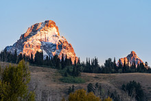 Sunrise Of The Grand Teton, Gr...