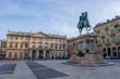 Old statue square
