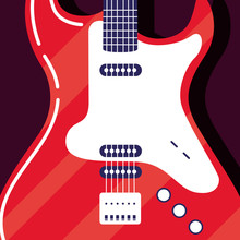Electric Guitar Instrument Ico...