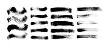 Grunge Brushstrokes Hand Drawn...