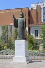 Archbishop Damaskinos In Athens Greece