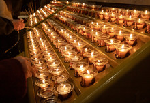 Candles In The Catholic Church...