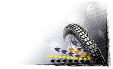 Motosport Wheel Background