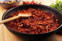 Hot Chili Con Carne. Mexican F...