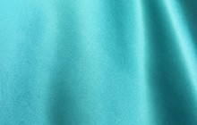 Turquoise Satin Background. Si...