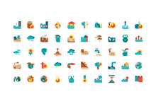 Isolated Climate Change Icon S...