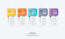 5 Data Infographics Tab Paper ...