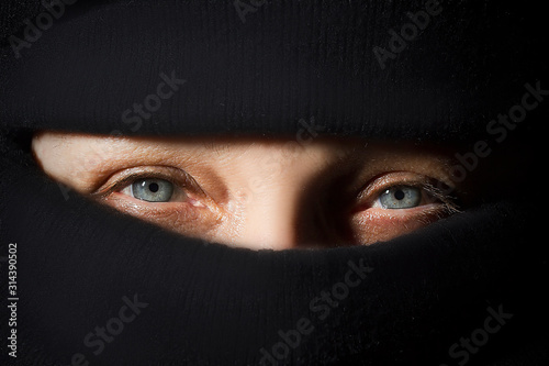 Woman in hijab Fototapet