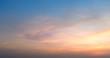 Leinwandbild Motiv sky with clouds