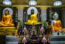 10/02/2019: Wat-chong-kham , Thailand : Located At Wat-chong-kham(Temple) Landmark Of Province In  Lampang Thailand.