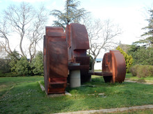 RUSTY BROWN MONUMENT IN STIM P...