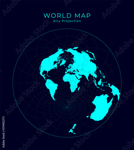 Photo Map of The World