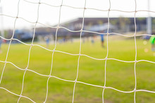 Picture Of Football Goal Net I...