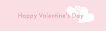 Valentines Day Pink Wallpaper With Puzzle Hearts