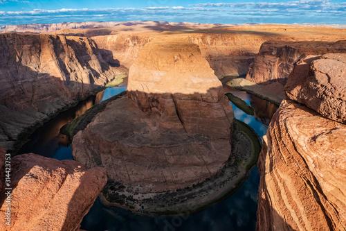 Arizona Horseshoe Bend meander of Colorado River in Glen Canyon фототапет