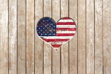 American Flag Of Usa