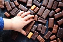 Assortment Of Chocolates. Top ...