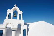 Traditional White Stucco Greek...