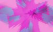 canvas print picture - illustration of colorful decorative texture painting. Vibrant paint pattern backdrop