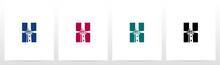 Lighthouse On Letter Logo Desi...