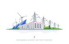 Renewable Solar And Wind Energ...