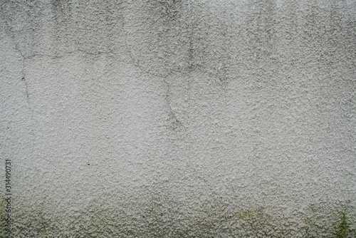 Cuadros en Lienzo plastered grey beige cement background Wall texture wallpaper
