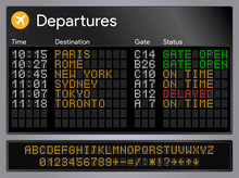 Realistic Departures And Arriv...
