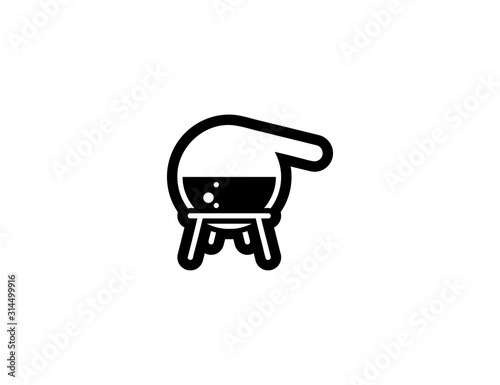 Photo Alembic vector isolated icon illustration