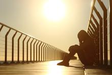 Sad Teenager Girl Depressed Si...