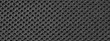 canvas print picture Texture of fabric black material