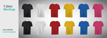 Different Colors T-shirt With ...