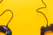 Two Wired Gamepads Or Video Ga...