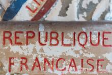 Gravure République Française