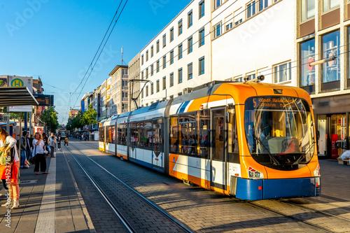 Photo Strassenbahn, Mannheim, Deutschland