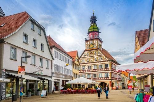 Fototapeta Altstadt, Kirchheim unter Teck, Deutschland  obraz