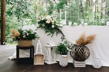 Various Decor Items At A Weddi...