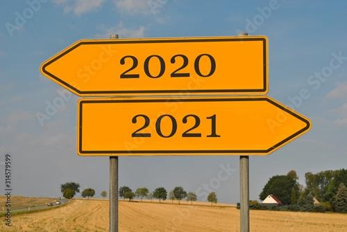 Fototapeta 2020 rok / 2021 rok obraz