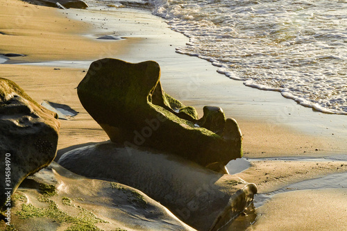 Rock Cradle by the Sea Canvas-taulu