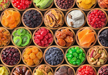 Assorted Dried Fruits And Berr...