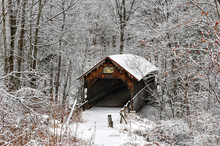 Blacksmith Shop Covered Bridge - New Hampshire