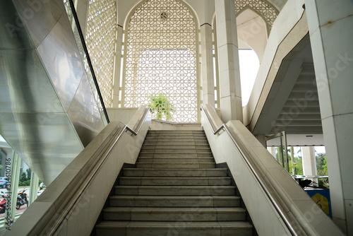 Photo ブルーモスクの階段