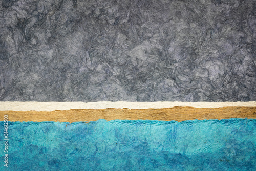 abstract-landscape-created-with-amate-bark-papers