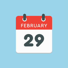 Calendar Day 29 February, Leap...