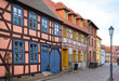 In Röbel you will find many old, restored half-timbered houses.