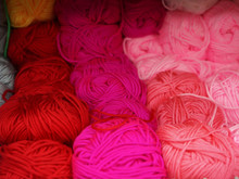 Skeins Of Thread In The Store ...