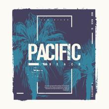Pacific Beach California Vecto...