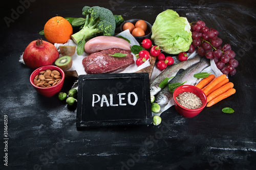 Photo Various Paleo diet products