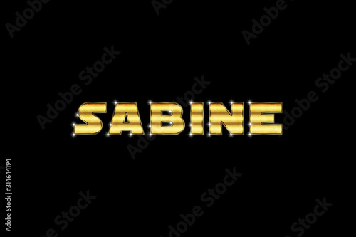 Photo  Sabine