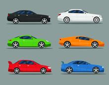 Car Icon Vector Logo Template....